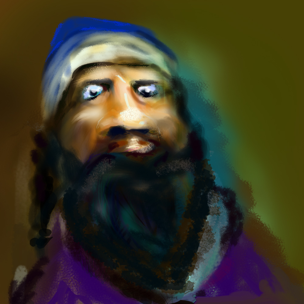 Yemenite Jew Illustration