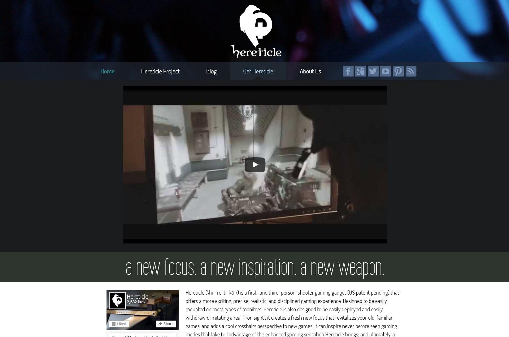 Hereticle: Homepage