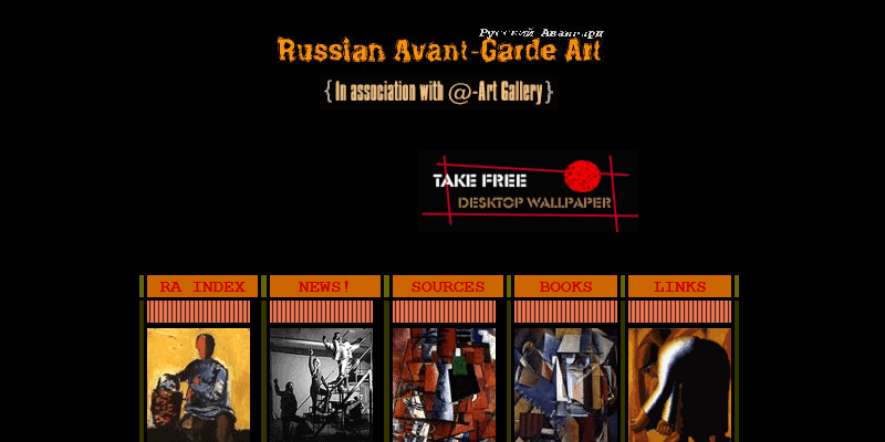 Avantgarde Homepage