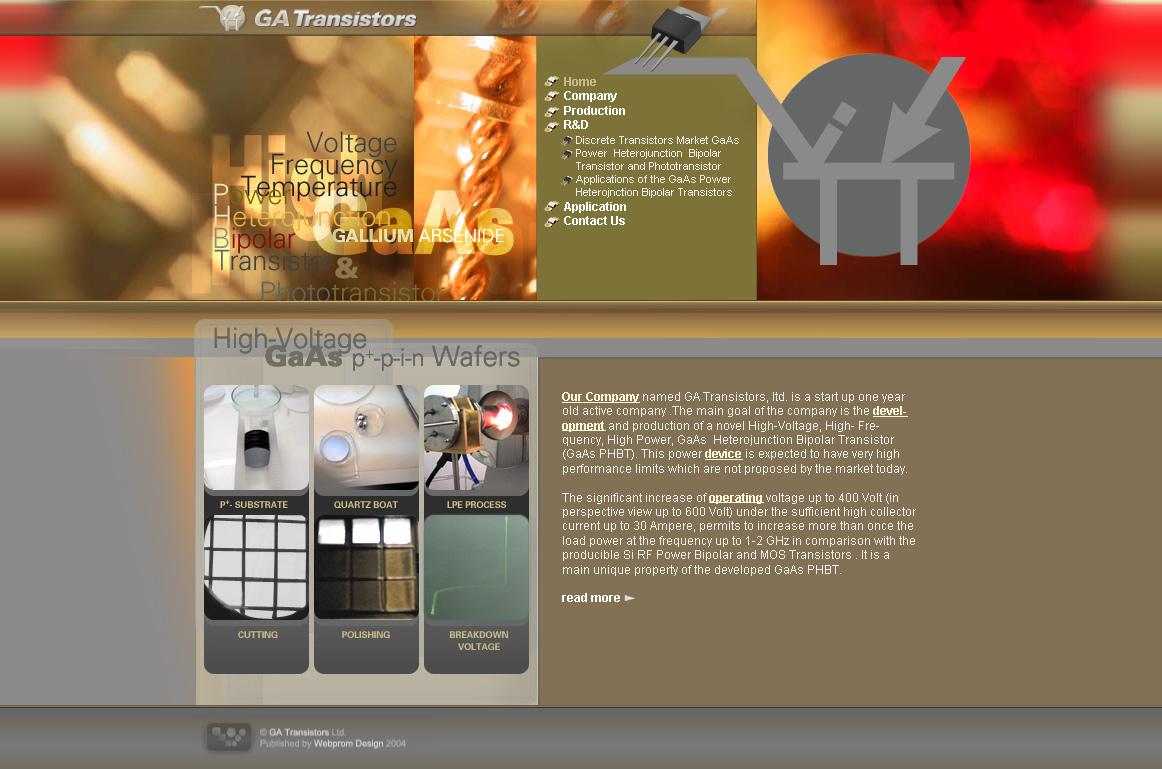 Transistors R&D Startup