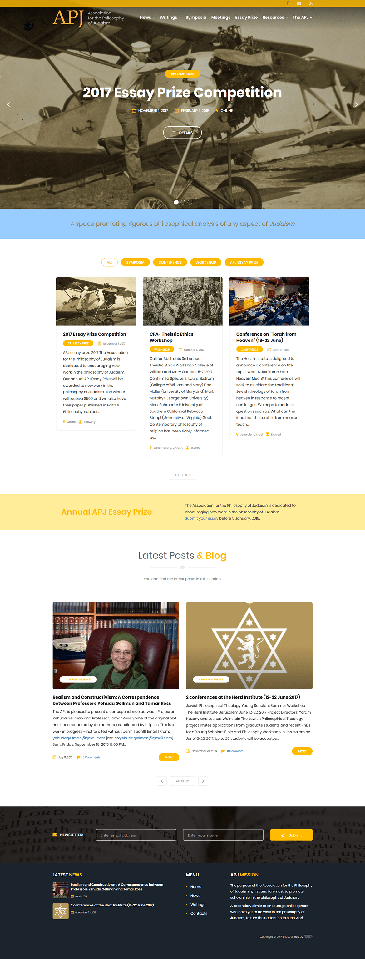 Non-profit philosophers association website